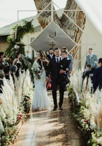 Grand Junction Backyard Wedding by April Marie Events and Sarah Elizabeth Images