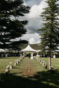 Collbran Private Property Wedding for Cassy & Matt by April Marie Events and The Delacastros